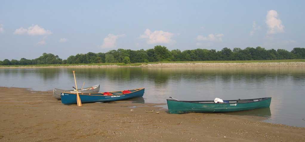 Canoeing - New Harmony, Indiana