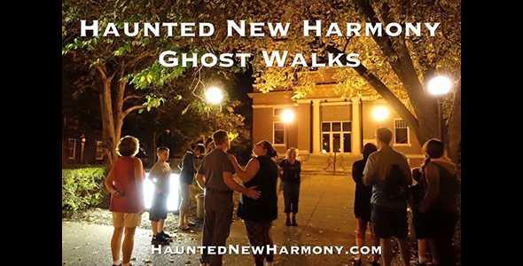 Ghost Walk Haunted New Harmony