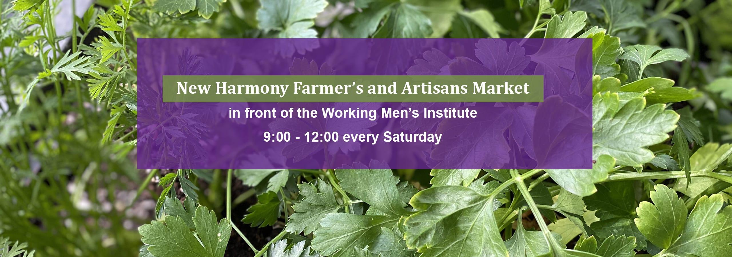 New Harmony Farmer's and Artisans Market