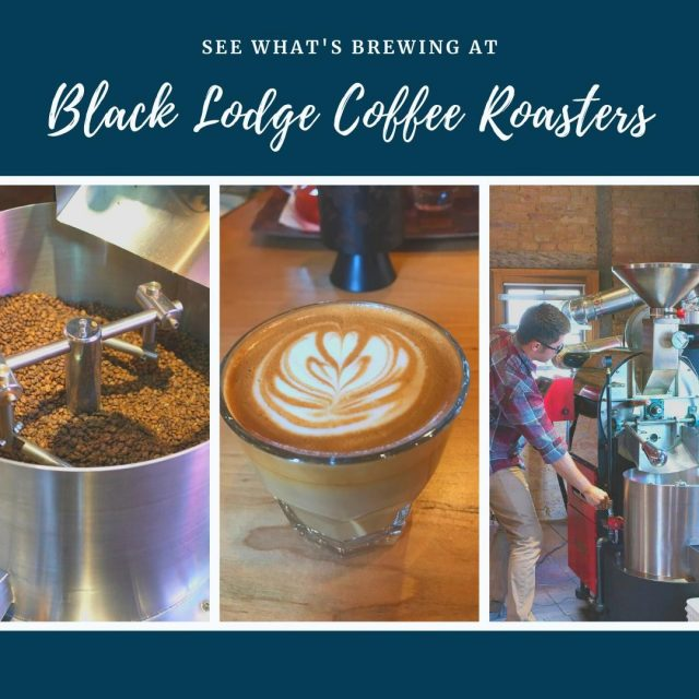 Black Lodge Coffee Roasters is a small batch coffee roastery and coffee shop located in New Harmony's historic 'Cooper Shop' site. Come in and discover a new favorite type of brew or rediscover a classic espresso drink! #VisitNewHarmony #DineNewHarmony #ShopNewHarmony