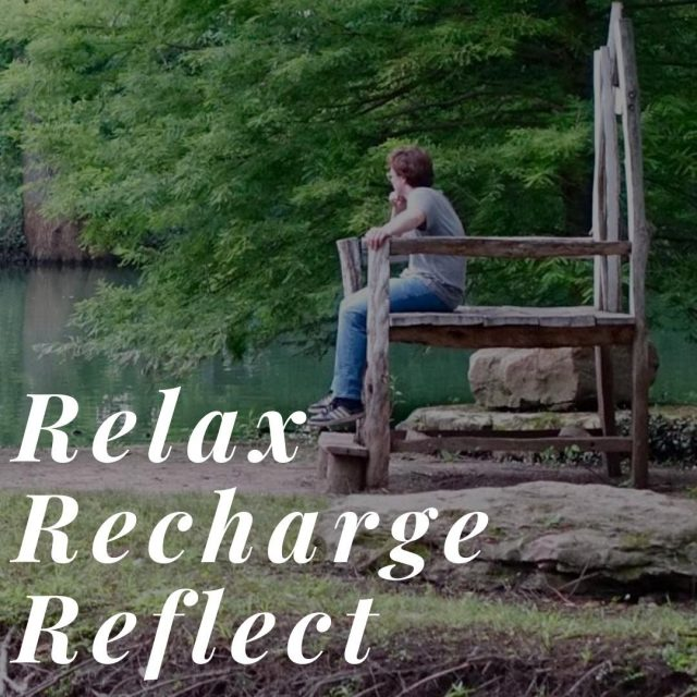 "While there are many things to do in New Harmony, you don't always have to ""do."" Come get away and relax in New Harmony! #VisitNewHarmony #LoveNewHarmony"