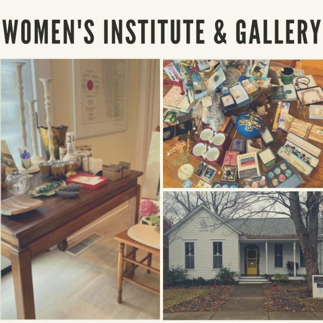 "The Women's Institute & Gallery, open Friday-Saturday, features artists' works, women's resources, and a distinct gift shop carrying mindful cards, calendars, journals, and so much more. Whether you are shopping for yourself or looking for a thoughtful gift for a special person, the WIG should be on your ""must stop and shop"" list. #VisitNewHarmony #ShopNewHarmony"