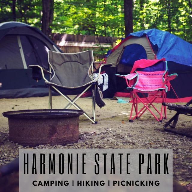 "Harmonie State Park is located ""on the banks of the Wabash"" just 4 miles from New Harmony. The park plays host to campers of all types -- from modest tents to mega-RVs. Family cabins are also available. Whether you come to camp, hike, or play, come spend time at Harmonie State Park. #VisitNewHarmony #ExploreNewHarmony"