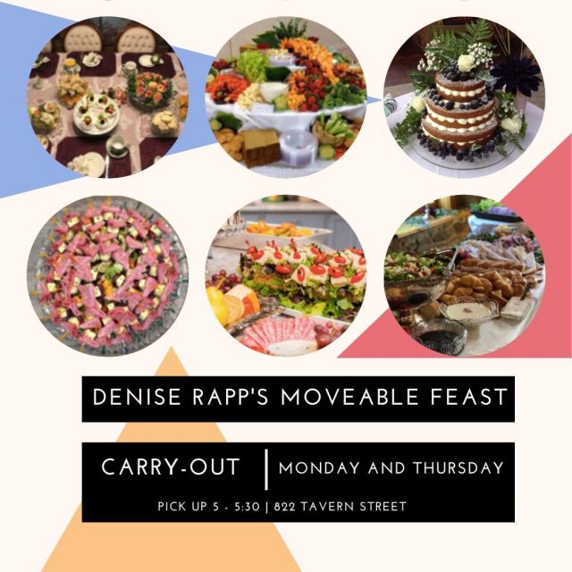 "Looking for a caterer that will produce a Pinterest-worthy meal or party for you? Denise Rapp's Moveable Feast combines culinary skills with artistic flair and creativity to produce ""WOW!"" results. The Moveable Feast also offers carry out most Monday and Thursday nights with advance orders! #VisitNewHarmony #FoodiesNewHarmony"