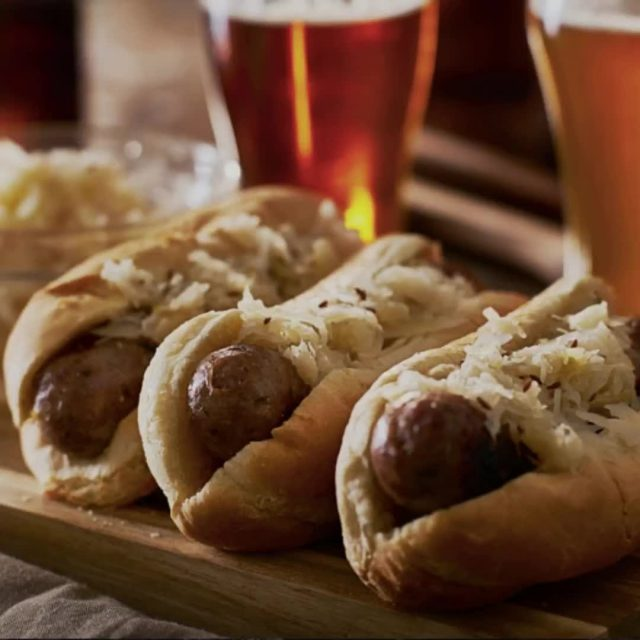 Love bratwursts? Love sauerkraut? Why not put them together? The Yellow Tavern serves up some great bratwursts with sauerkraut. Don't forget to add another German favorite to your order – a cold beer. Give it a try when you visit the Yellow Tavern! #VisitNewHarmony #DineNewHarmony