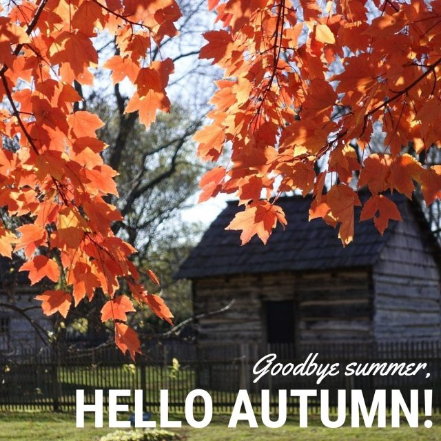 Nothing compares to the beauty of New Harmony in autumn. Starting in late September and going through early November, Fall color envelops the town. Happy First Day of Autumn! #VisitNewHarmony #LoveNewHarmony