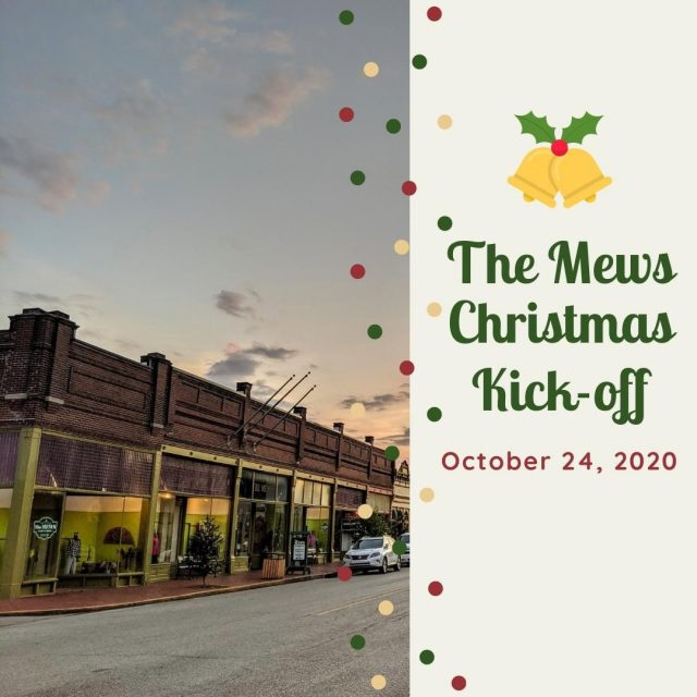 The holiday season begins this Saturday, October 24th in New Harmony with the much-anticipated Christmas kickoff event at The Mews.  Shopping early for Christmas has never been smarter.  With the wide assortment of items, The Mews has something for everyone on your Christmas shopping list!  #VisitNewHarmony #ShopLocal #TheMewsNH #ShopNewHarmony