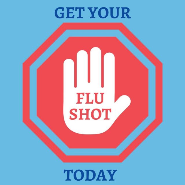 It's never too late to get your flu shot. Protect your health with the vaccination!