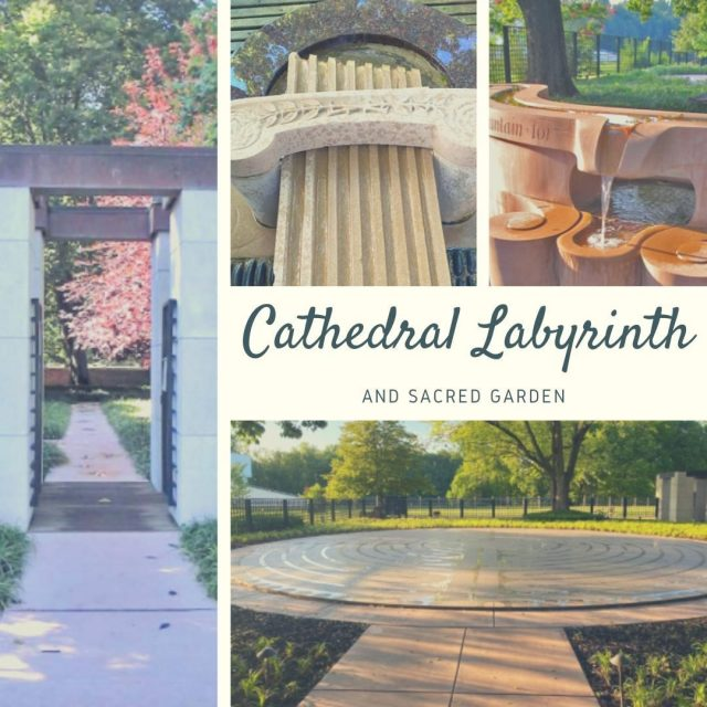 The Cathedral Labyrinth and Sacred Garden offers an opportunity to walk and meditate on an ancient single path labyrinth. The Labyrinth is open from sunrise to sunset. #VisitNewHarmony #LoveNewHarmony