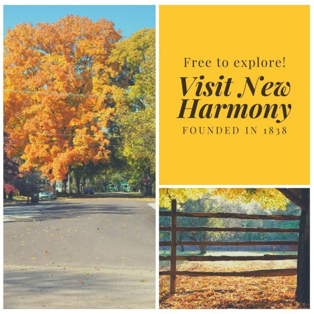 Utopia hasn't ceased to exist even today in this captivating little Southern Indiana town. New Harmony is full of life, offering all sorts of activities from one of a kind eateries, specialty shops, antiques, festivals, art, nature and history. New Harmony: where magical moments are made! #VisitNewHarmony #ExperienceNewHarmony #OnlyInNewHarmony
