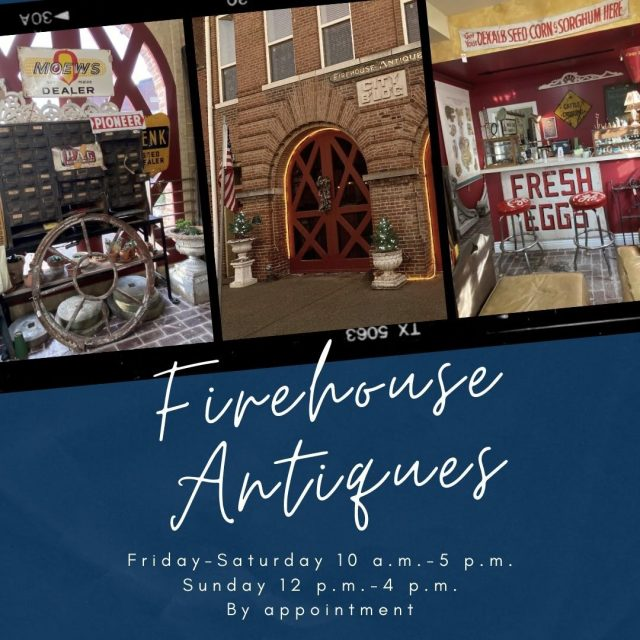 Looking for antiques for that person on your Christmas list? Visit Firehouse Antiques!  They buy and sell American antiques, signs, quilts, jewelry, and much more! Want to shop from home?  Visit Firehouse Antique's Etsy Store! #VisitNewHarmony #ShopNewHarmony #FirehouseAntiques #OnlyInNewHarmony #ChristmasinNewHarmony #SmallTownChristmas