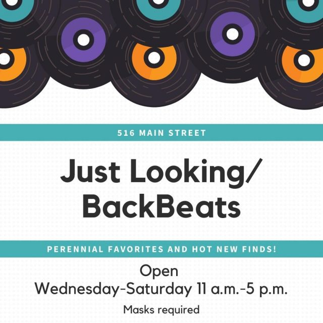 Just Loooking/BackBeats has all the hot new finds when it comes to antiques, records, vintage jewelry & clothing, pop culture, and more! They are located at 516 Main Street and are open Wednesday through Saturday from 11-5. #VisitNewHarmony #ShopLocalinNewHarmony #JustLooking #BackBeats #OnlyinNewHarmony