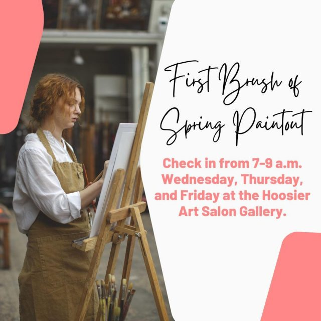 The 22nd Annual New Harmony First Brush of Spring Paint-Out starts today! This event brings artists together for plein air painting in the historic town of New Harmony, Indiana, providing an amazing spectacle for visitors to watch and enjoy and an opportunity for painters to refine and showcase their talents, inspired by beautiful Spring flowers, interesting architecture, and paint-worthy scenery. #VisitNewHarmony #NewHarmonyArt #HoosierSalon #OnlyinNewHarmony