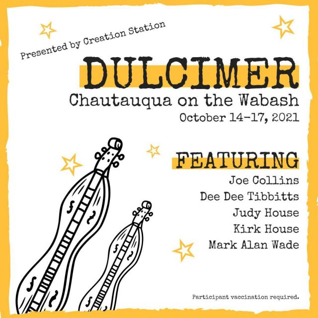 Welcome to participants in the 22nd annual festival of Dulcimer Chautauqua on the Wabash.  Have fun, make great music and enjoy your time in New Harmony! #VisitNewHarmony #NewHarmonyDulcimerCompany #OnlyinNewHarmony