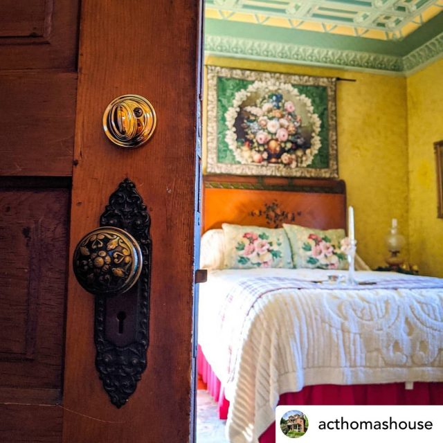 ⭐️⭐️ #INTERIORTHURSDAYS ⭐️⭐️ Drool!! 🤤 how amazing you can actually stay here too! 😍😍 From acthomashouse ••••••• Valentine's Day will be here before you know it! We might be a little biased, but we think it's pretty hard to beat a romantic weekend away in New Harmony. Book a stay in one of our gorgeous Victorian bedrooms. With plenty of incredible dining options within walking distance of A.C. Thomas House, we've got Valentine's Day covered! Book a Valentine's Day stay to remember at acthomashouse.com! . . . . #visitindiana #indiana #bnb #visitposeycounty #visitnewharmony #newharmony #historic #historichomes #historicpreservation #oldhouses #oldhouselove #interiorthursdays #theamericanhome #antiques 🔹🔹🔹🔹 Thanks so much for following! Keep tagging your interior shots to #oldhouselove & #interiorthursdays for a feature! Why? Because old houses rock! ✊